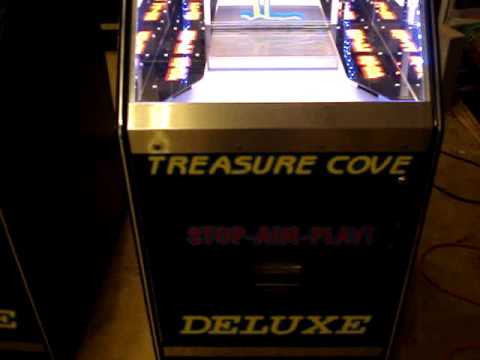 Customized mcgregor coin / quarter pusher machines for sale.