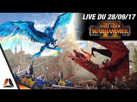 VOD ► Présentation de Total War: Warhammer 2 & Coop avec Troma