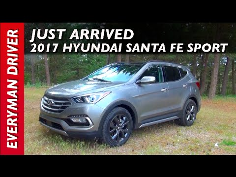 just arrived 2017 hyundai santa fe sport on everyman. Black Bedroom Furniture Sets. Home Design Ideas