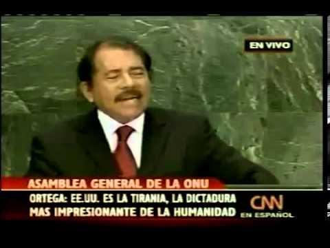 25 Sep 2007 Daniel Ortega en la ONU