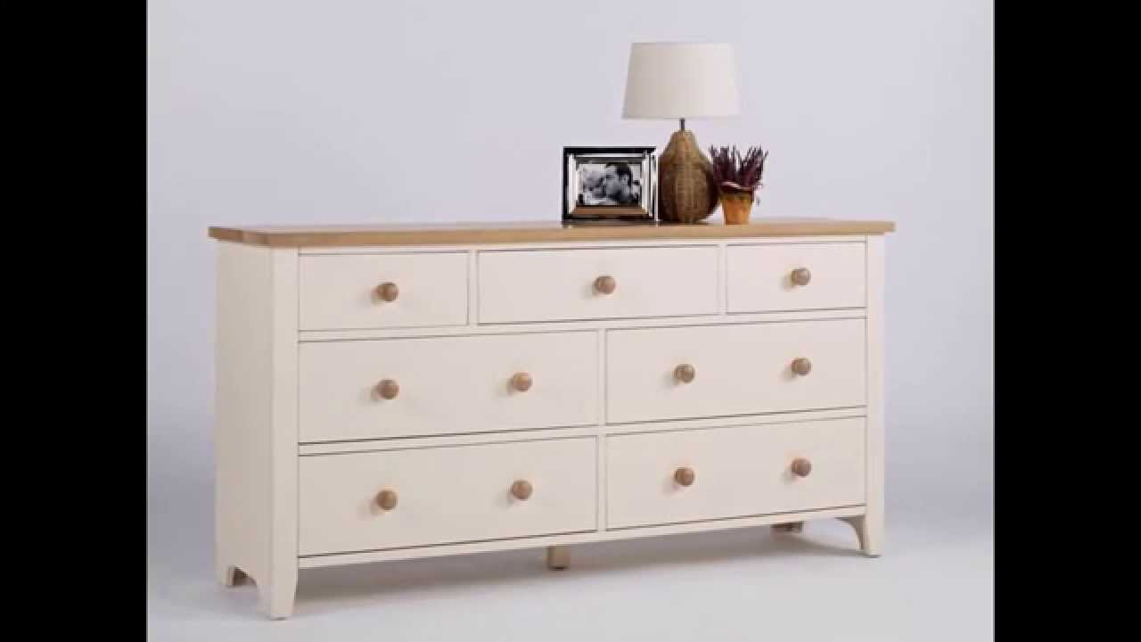 vintage chic bedroom furniture. Camden 3 Over 4 Deep Chest Of Drawers | Shabby Chic Bedroom Furniture Decorating Ideas Designs - YouTube Vintage T