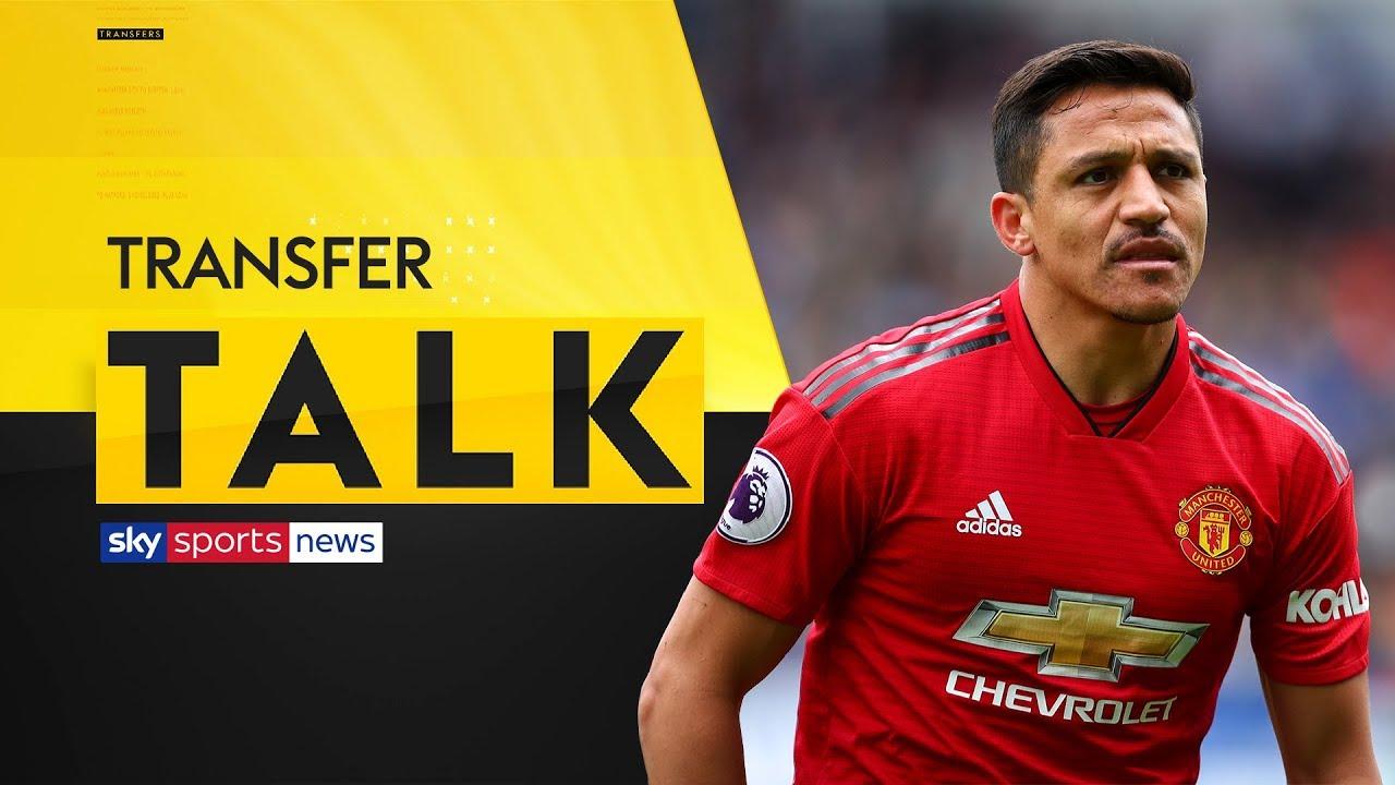 The Latest On Alexis Sanchez S Future At Man Utd Transfer Talk Youtube