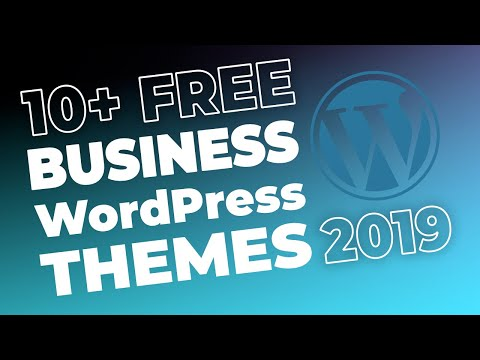 10+ FREE WordPress BUSINESS Themes For 2017