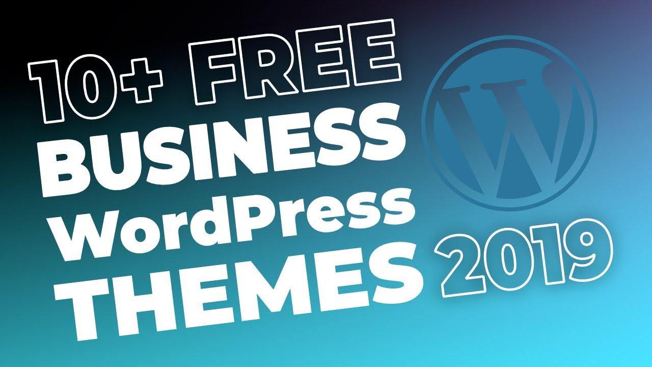 10 free wordpress business themes youtube freewordpresstheme themeislethemes accmission