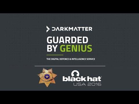 [240] Dark Matter with Stephen Brennen at Black Hat USA 2016