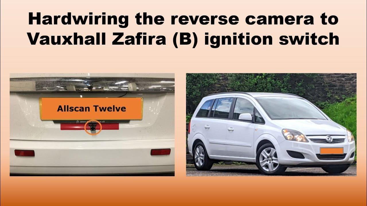 WIRELESS Reversing Reverse Rear Camera For Vauxhall Zafira MK2 B Insignia Corsa