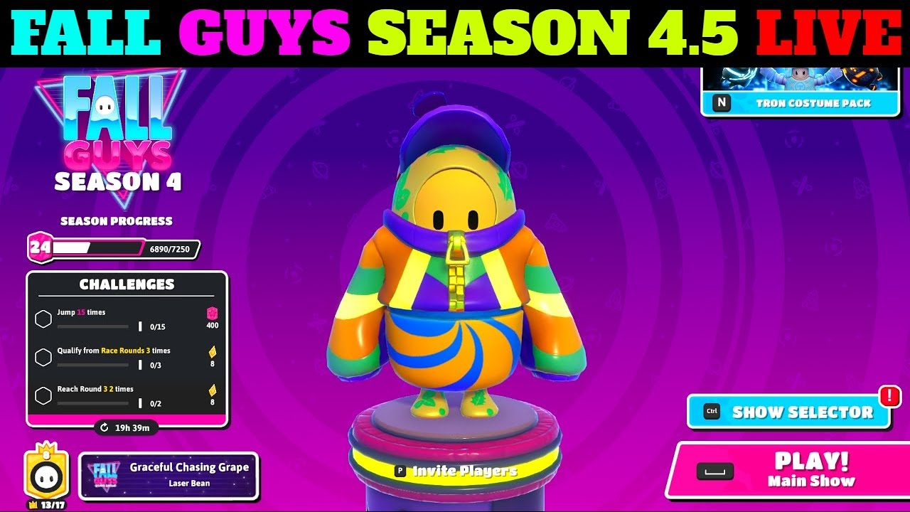 Download Let's Play Fall Guys Season 4.5 LIVE ||