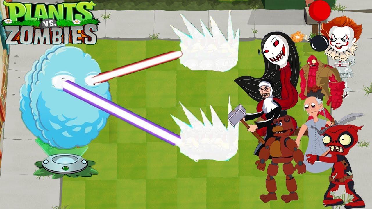 Plants vs Zombies 2 Cartoon Animation Best Funny Ep 11 | Chili Bean Laser vs All Horror Zombies