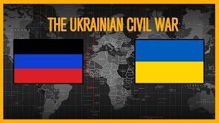 War Simulations   The Ukrainian Civil War   Every Day