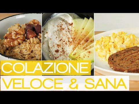 3 Idee per una Colazione Fitness Sana e Veloce - Dolce E Salata