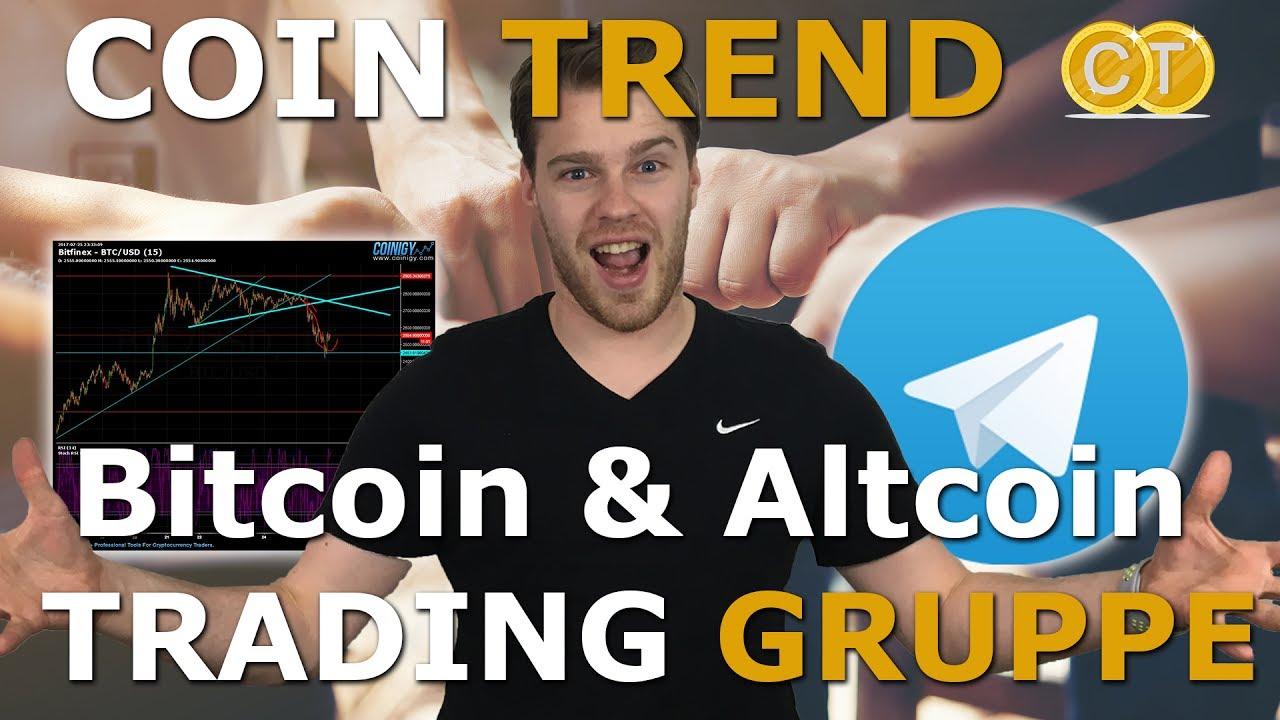 bitcoin trading gruppe)