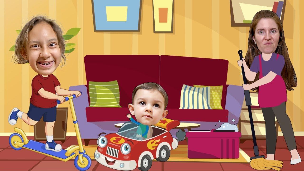 MC Divertida faz uma lista de tarefas divertidas com o bebê JP | Made a to do list for the day