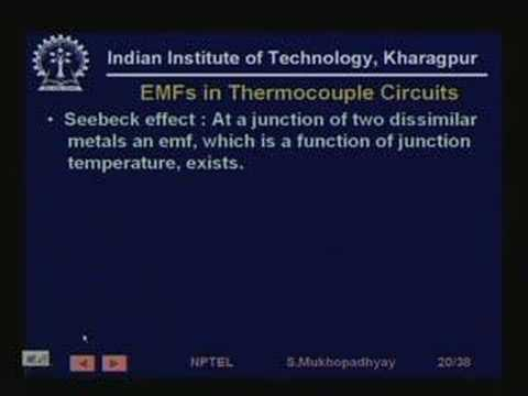 Lecture - 4 Temperature Measurement
