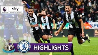 Lucky Punch in der 90.+4! Blues geschockt | Newcastle - FC Chelsea 1:0 | Highlights - Premier League