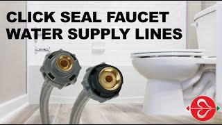 how to replace a faucet water supply