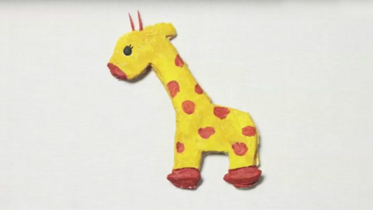 fabriquer une girafe en pate a sel