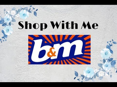 Shop With Me B&M - New items and Bargains in store.