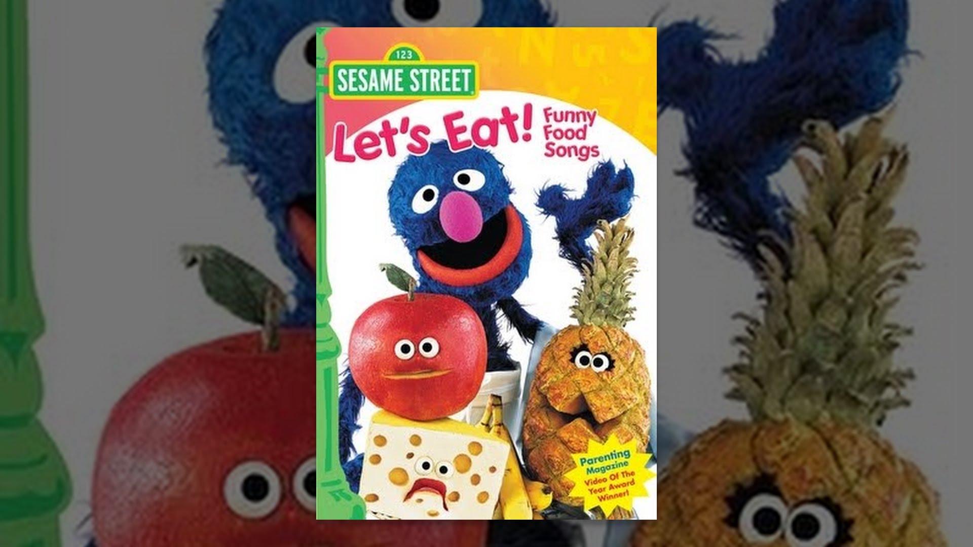 Sesame Street Let S Eat Funny Food Songs Youtube
