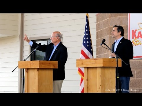 Kansas Senatorial Debate, Pat Roberts vs. Greg Orman, Sept. 6, 2014, Kansas State Fair