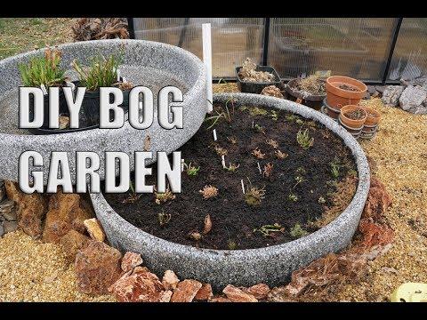 Prepping and Planting- DIY Bog Garden Part 2