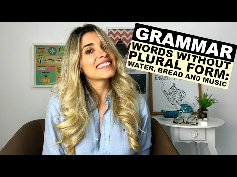 3 Words Without Plural Form You Didn't Know | Grammar | Eng