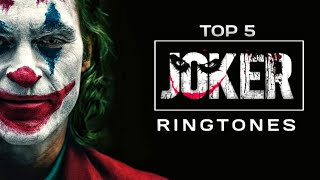 ☠️ Top 5 Joker Ringtones || download link (👇) || Trend Tones
