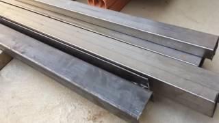 vuclip Material para fazer telhado cobertura telhas de zinco viga u metalon preço