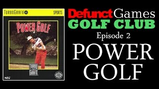 Defunct Games Golf Club: Power Golf (TurboGrafx-16)