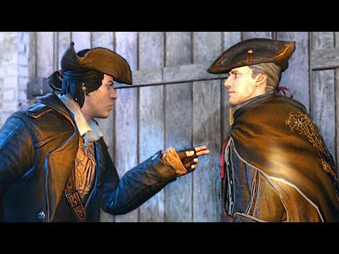 Years Later... Connor Meets His Father, Haytham Kenway. Assassin's Creed 3 Remastered |