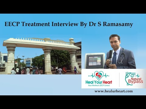 eecp treatment interview by dr s ramasamy