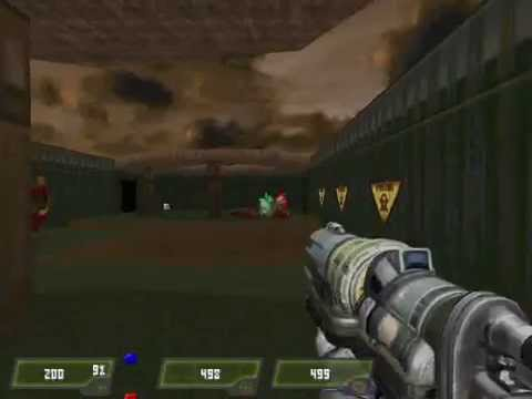 Doom 2 Mod Quake 4 Weapons Gameplay Part 1/4 Full