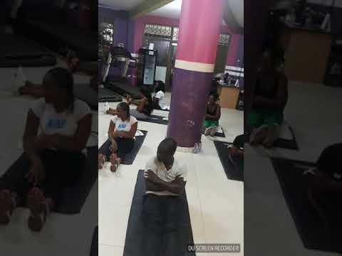 Liberia/ Ghana Work out! Tprez Health and Fitness Trains with Ultimate Health and Fitness- Ghana