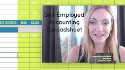 Business Accounting: Income and Expenses [Self Employed Accounting Spreadsheet Template]