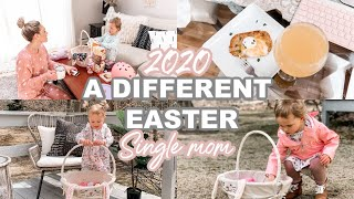 A DIFFERENT EASTER AT HOME AS A SINGLE MOM & TODDLER| Tres Chic Mama