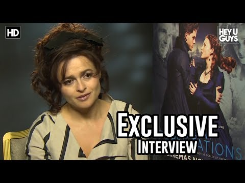 Helena Bonham Carter Interview - Great Expectations