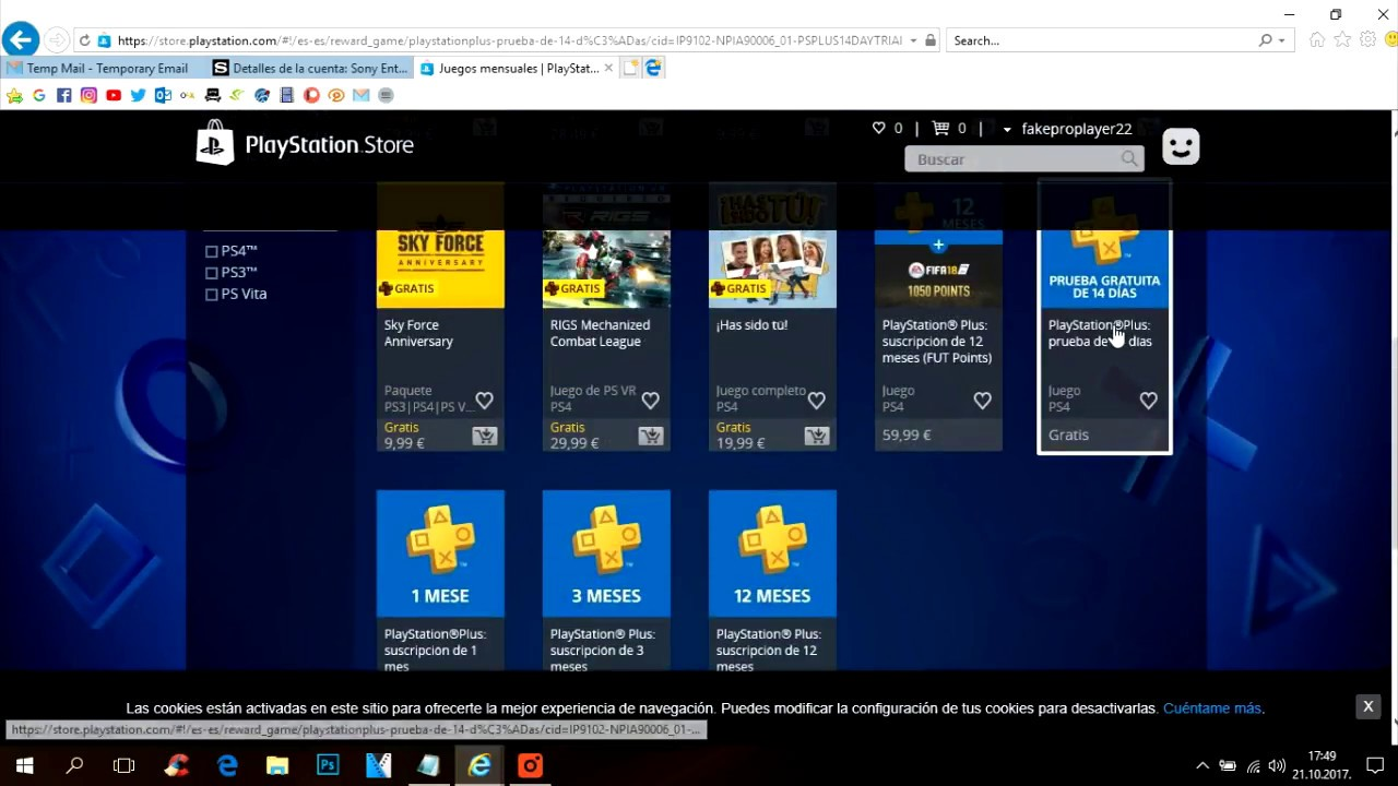 Playstation Plus 12 Meses How To Get Free Ps Plus 14 Day Trial 21 10 2017 Updated Codes