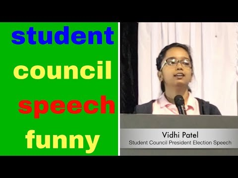 speech for class president