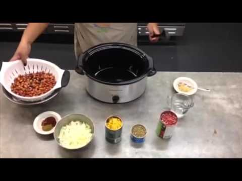 How To - Easy Vegetarian Chili