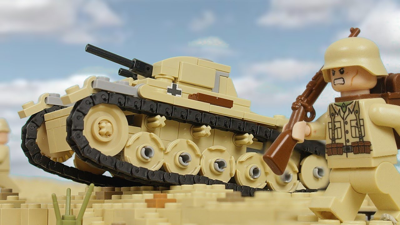 Lego WW2: The Battle of El Alamein - stop motion