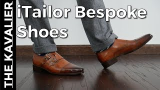 Fully Custom Shoes For Under $250??  iTailor Bespoke Patina Shoes Unboxing