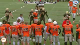 Moscow Spartans vs Moscow Patriots афиша 8 октября