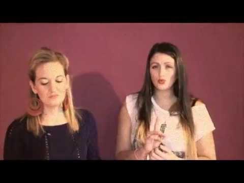 Cinta Di Akhir Garisan - Versi Bonnie Freechyld dan Hayley Poleon (Minah Salleh Nyanyi Lagu Melayu)
