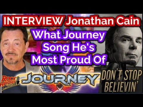 INTERVIEW Jonathan Cain: What Journey Song He's Most Proud Of (#1)