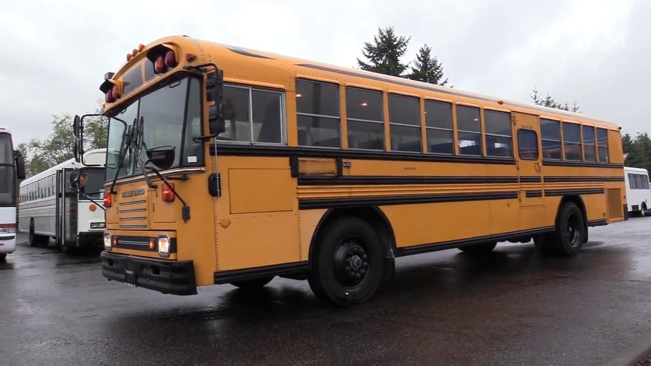 1994 Bluebird TC2000 72 Passenger School Bus - B54829