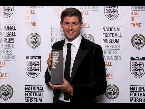 National Football Museum Hall of Fame 2017 - Steven Gerrard