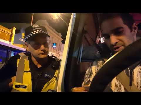 Corporate Police Stop Victoria, Australia May 2018