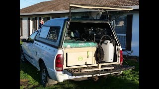 The Best Damn DIY Ute (Truck) Camper Set Up You'll See
