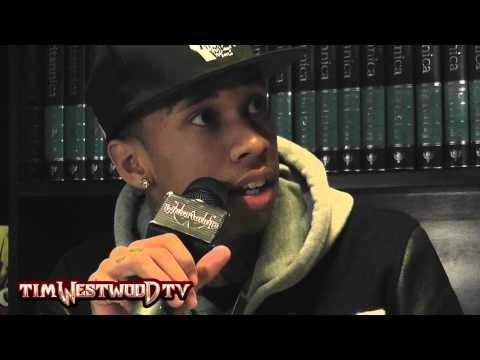 Tyga reveals tips on rhyming - Westwood