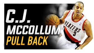 C.j. mccollum pull-back crossover (blender): how to basketball moves
