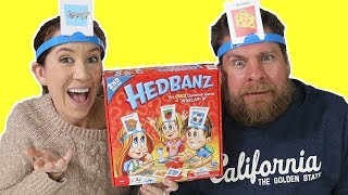 Playing Hedbanz Game 2nd Edition